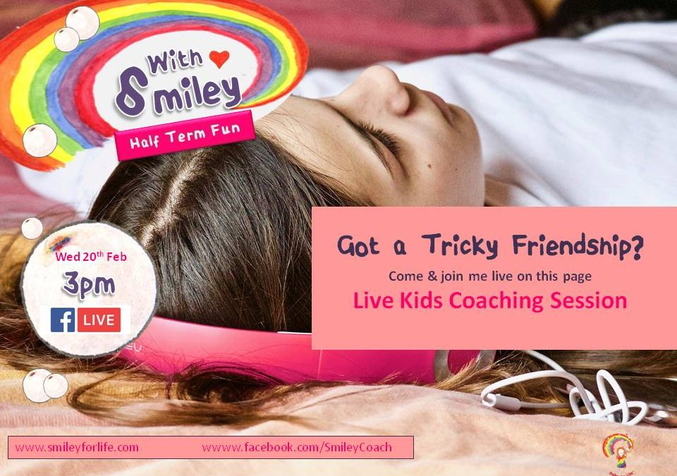 BONUS Friendships Episode for Kids – Half Term Free Mini Coaching Session