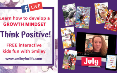 Smiley Thought Cards Messages for July